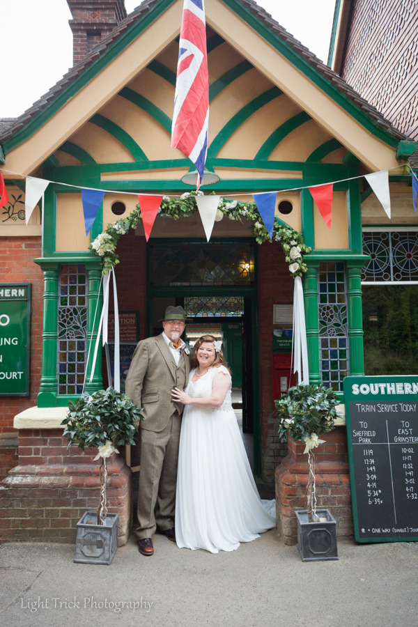 Bluebell Railway wedding photos