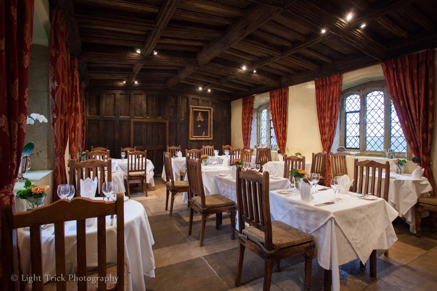 Bailiffscourt Hotel dining room
