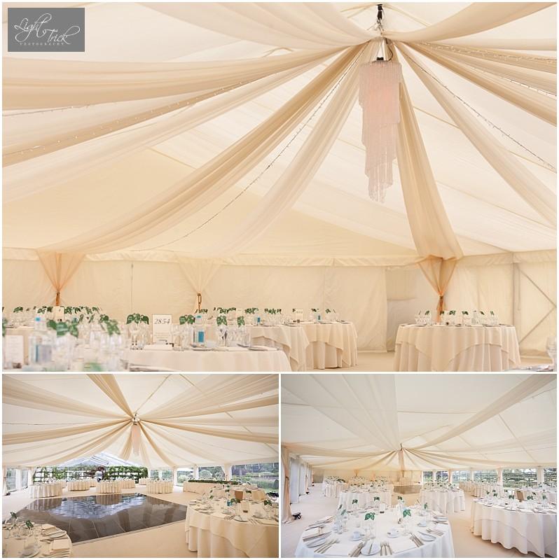 drapes wedding marquee dance floor
