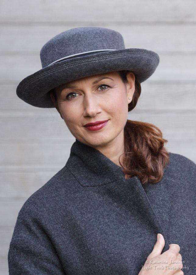 Joanna Zara Millinery modelled photo shoot