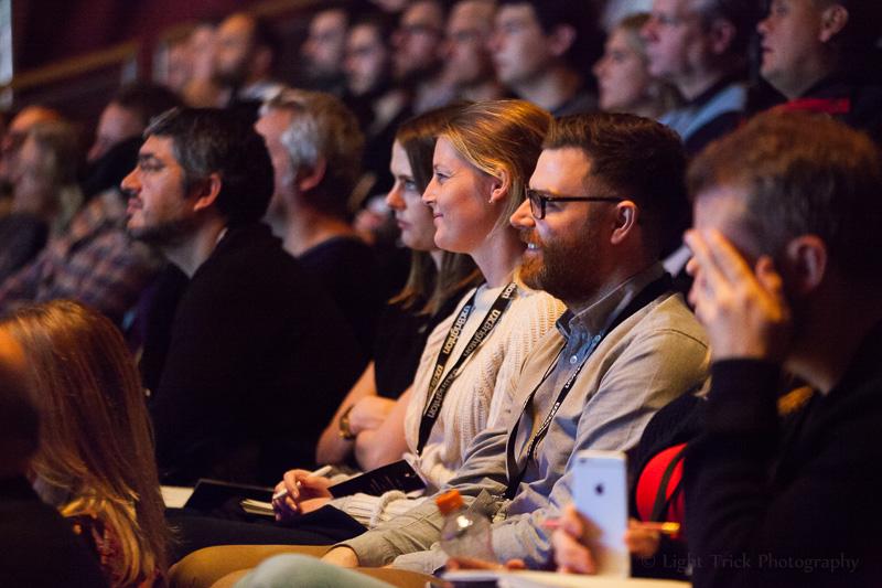 UX Brighton audience smiling