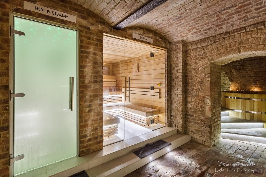 Brighton underground spa sauna steam room