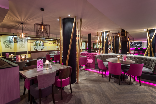 Bali Restaurant Hove by http://lighttrick.co.uk