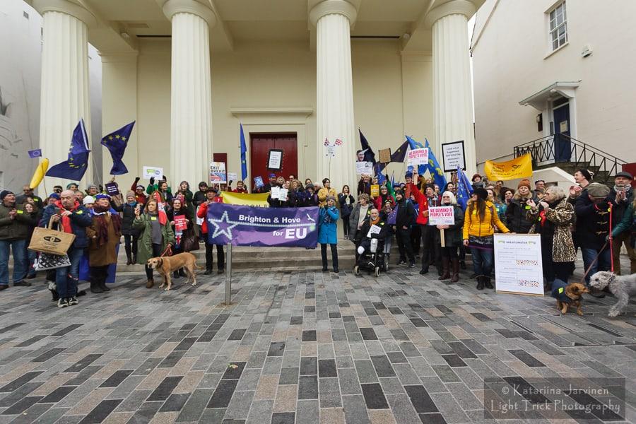 Brighton and Hove for EU rally