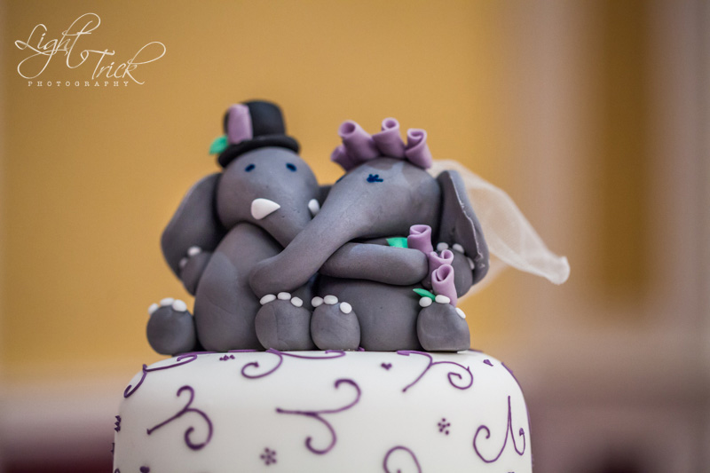 cute figurines as wedding cake toppers