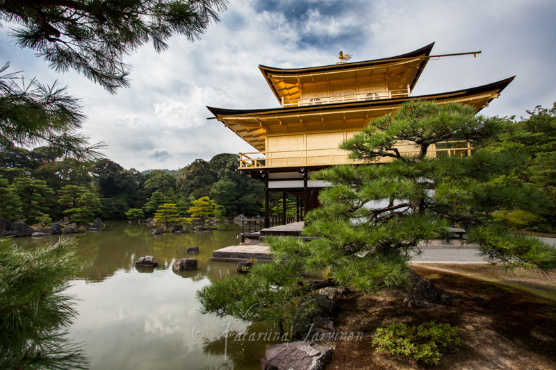 Kinkakuji Golden Pavilion Kyoto Japan