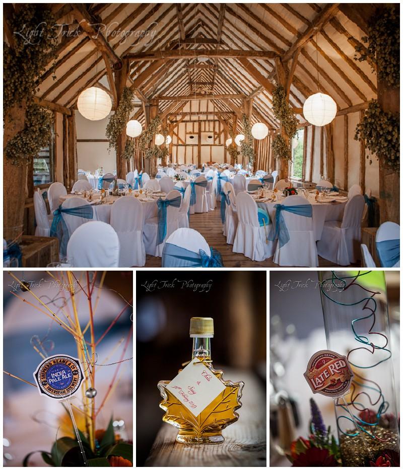Winters Barns wedding venue in Kent