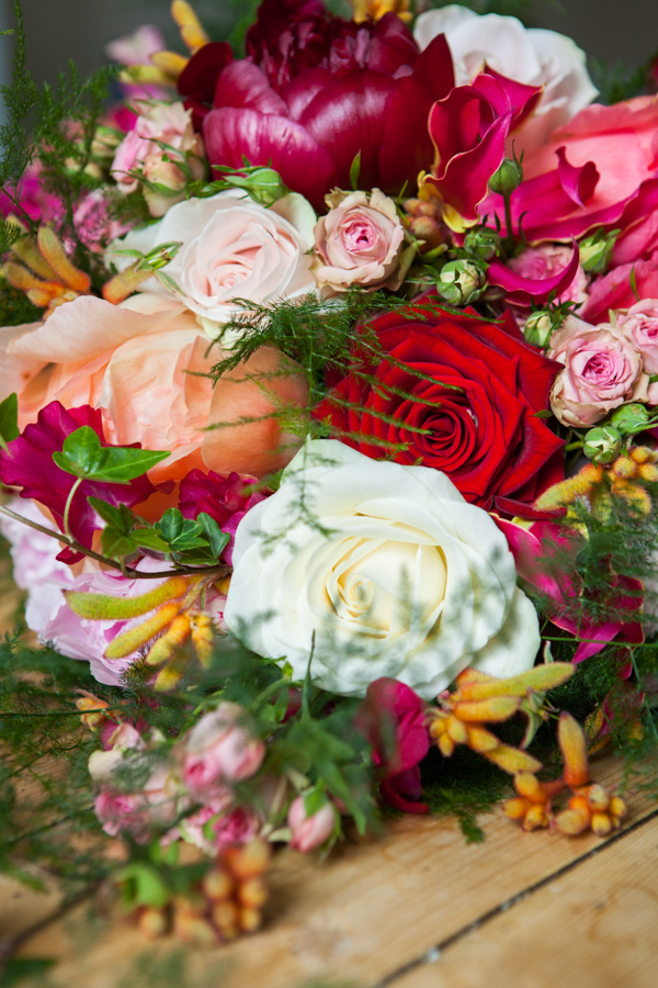 Kate Langdale bridal bouquet