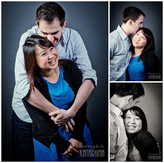 engagement photos - cute couple