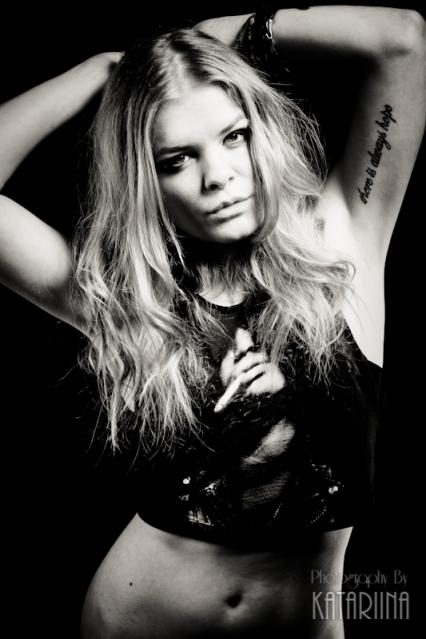 model portfolio shoot - tattoo