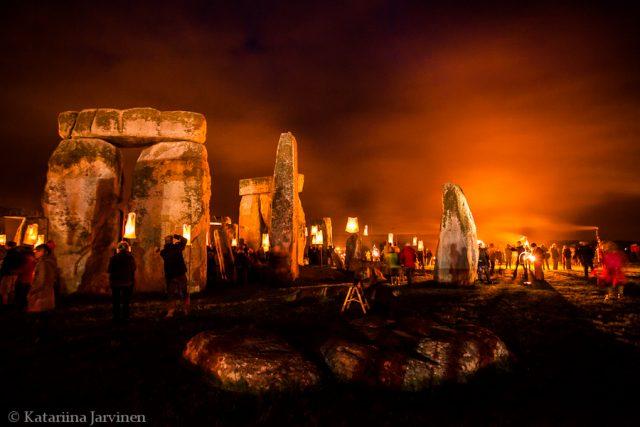stonehenge fire garden