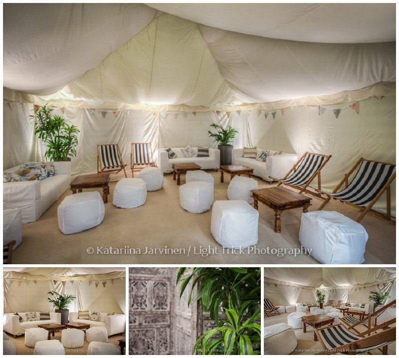 beach tent by The Arabian Tent Company