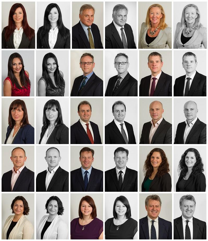 Business portrait photographer in London - corporate headshots