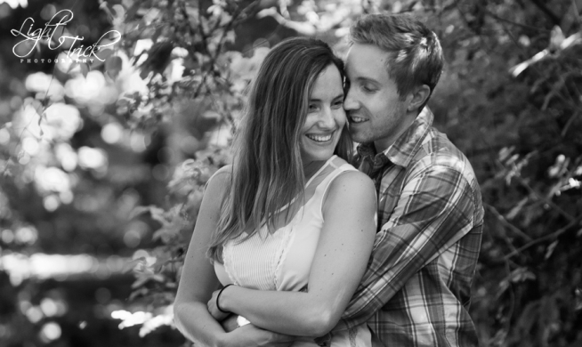 beautiful young couple - engagement photo shoot