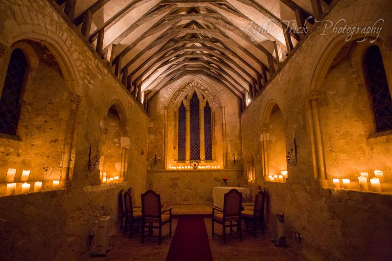 Bailiffscourt Hotel candlelit chapel