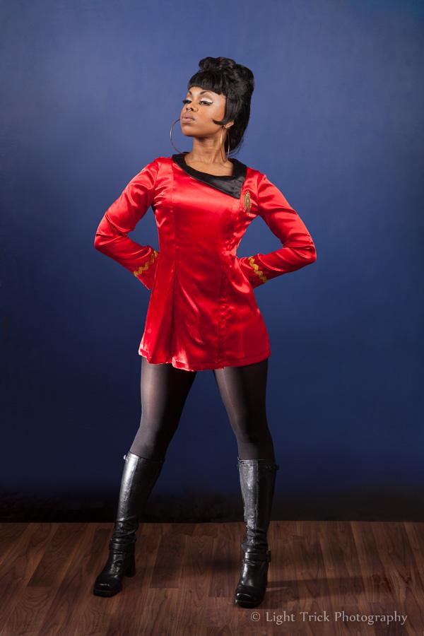 Coco Deville burlesque Star Trek Uhura