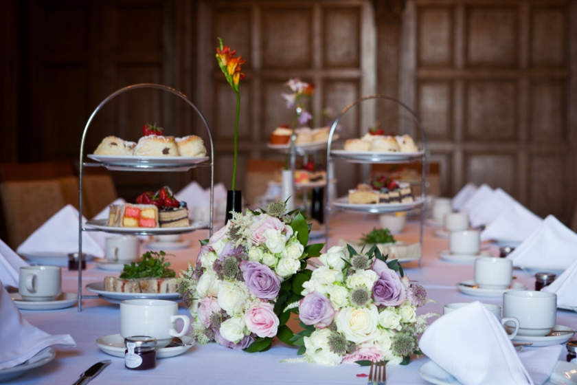 Pelham House cream tea wedding
