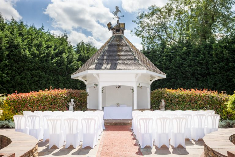 Hop Farm wedding gazebo