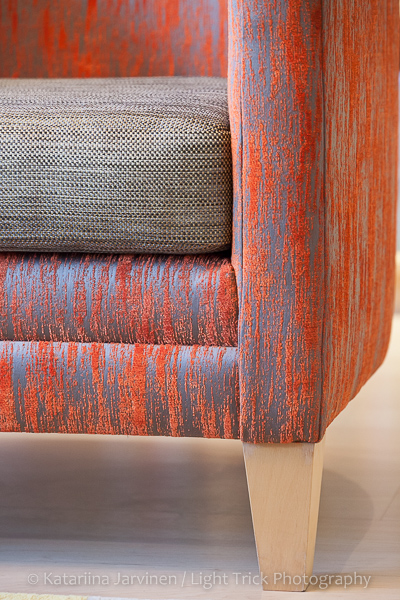 texture fabric chair