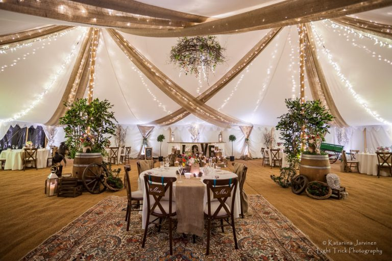 beautiful wedding tent hire