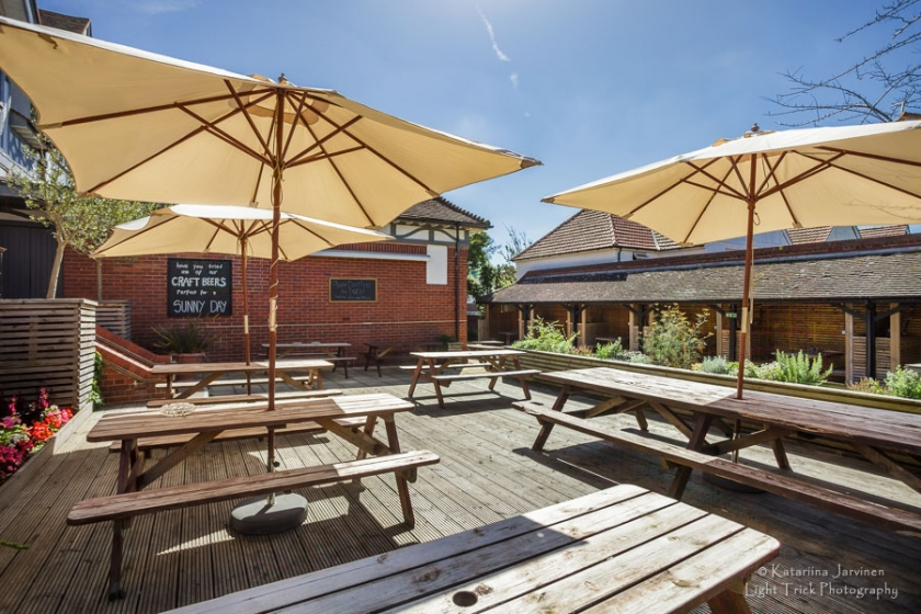 Website Photography for Brighton And Hove Pub