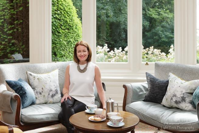 photo shoot at Ockenden Manor