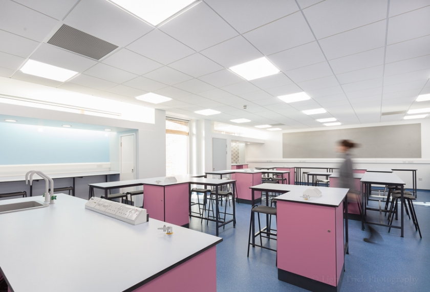 Blatchington Mill School chemistry classroom