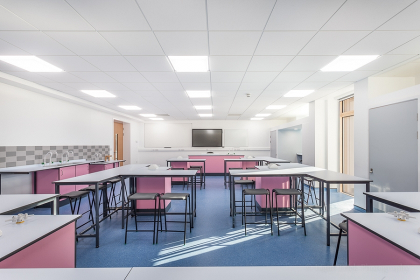 Blatchington Mill School new chemistry classroom