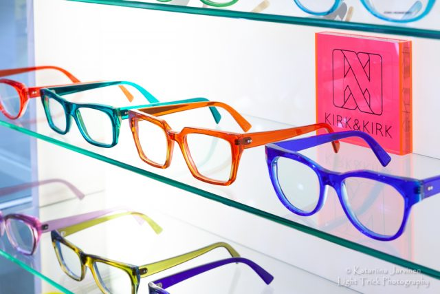 Frames in the lanes - colourful glasses frames